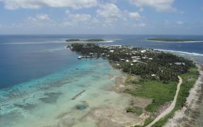 Jaluit, one of the remote atolls in the Marshall Islands.
