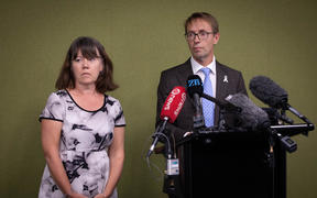 Health officials gave an update on New Zealand's response to the new coronavirus.