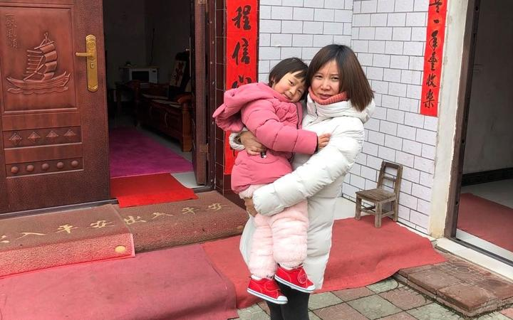 New Zealand resident Lily GAO and her two and half year old daughter Elysse are one of those who stuck in Wuhan.