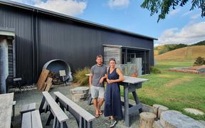 Mike and Kirsty Sutherland, Sawmill Brewery and smoko room