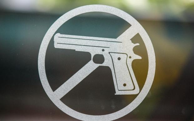 No guns.