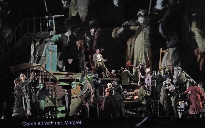 A scene from Wozzeck at The Met