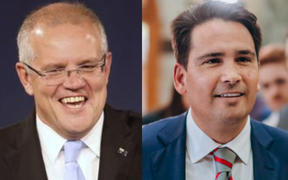 National leader Simon Bridges' election strategists are studying the approach of Australian Liberal Party and its leader, Australian Prime Minister Scott Morrison.