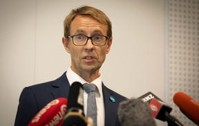 Mon 3rd Feb 2020 - Ministry of Health Novel Coronavirus press conference.  Update on how New Zealanders in China will be evacuated.  Dr Ashley Bloomfield is pictured.