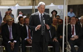 Winston Peters at Waitangi, 4/1/20.