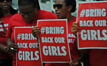 The kidnapping triggered the global social media campaign #BringBackOurGirls.