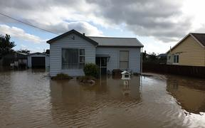 Flooding in Mataura.