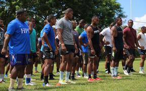 Fiji Latui extended squad gear up for season one of the Global Rapid Rugby tournament 2020.