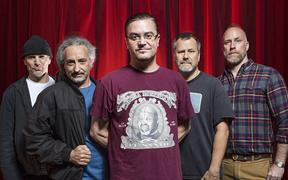 Faith No More (Billy Gould 2nd from right)