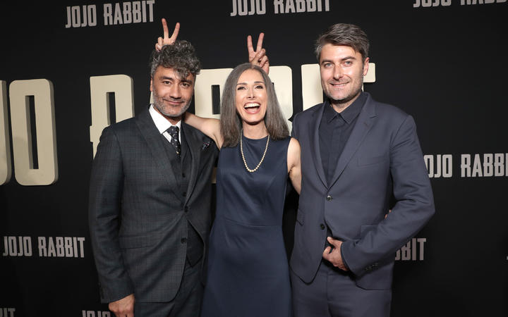 Taika Waititi, Christine Leunens & Carthew Neal.
