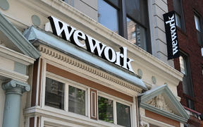 WeWork office in New York City.
