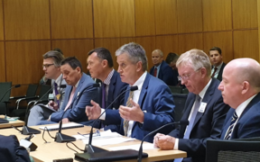 Racing industry leaders at Select Committee.