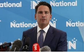 National leader Simon Bridges delivers the party's economic plans.