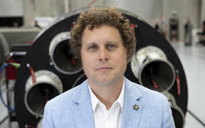 Rocket Lab's Peter Beck.