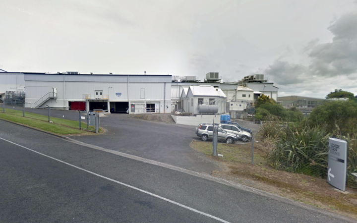 Silver Fern Farms facility at Hawera,