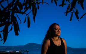 Renee Kiriona. A petition has been launched to call for Lake Rotorua to be given the same legal rights as a person.