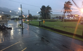 Morning has dawned in American Samoa with no reports of damage yet from Cyclone Wasi