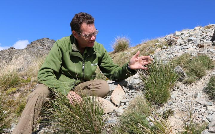 DOC ecologist Brian Rance