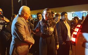 Prime Minister Jacinda Ardern arrived in Suva on Monday evening on the first visit to Fiji by a New Zealand Prime Minister since 2016.