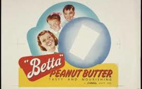 Betta peanut butter advertisement c. 1955