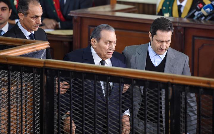 Former Egyptian President Hosni Mubarak dead