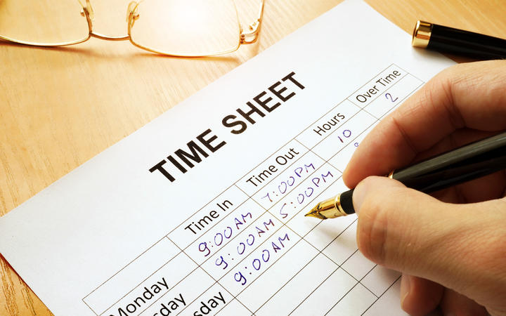 Work pay, timesheet.
