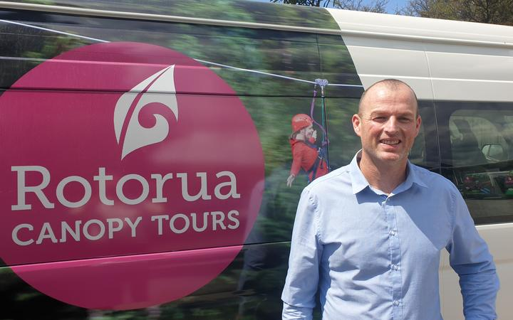 Rotorua Canopy Tours general manager Paul Button.