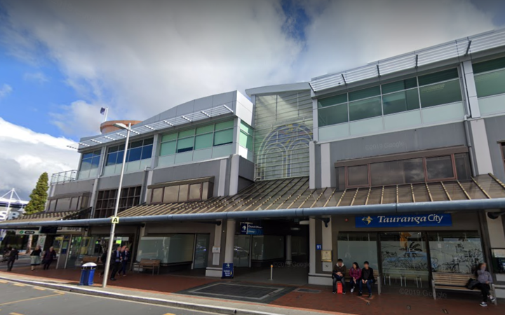 Tauranga City Council offices.