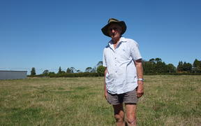Taranaki farmer Fred Marshall says he does not feel the 'orphaned' oil well on his property was his to deal with.