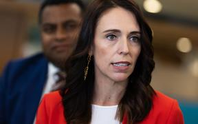 PM Jacinda Ardern speaking after New Zealand's third coronavirus case was confirmed this morning.