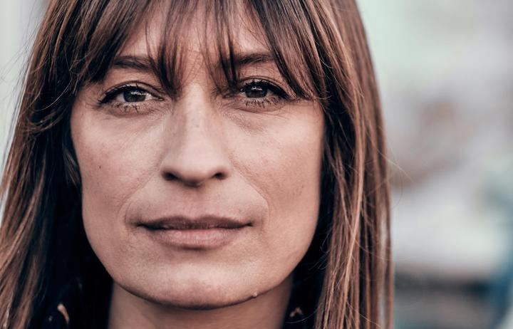 Caroline de Maigret at Paris Fashion Week Autumn/Winter 2019