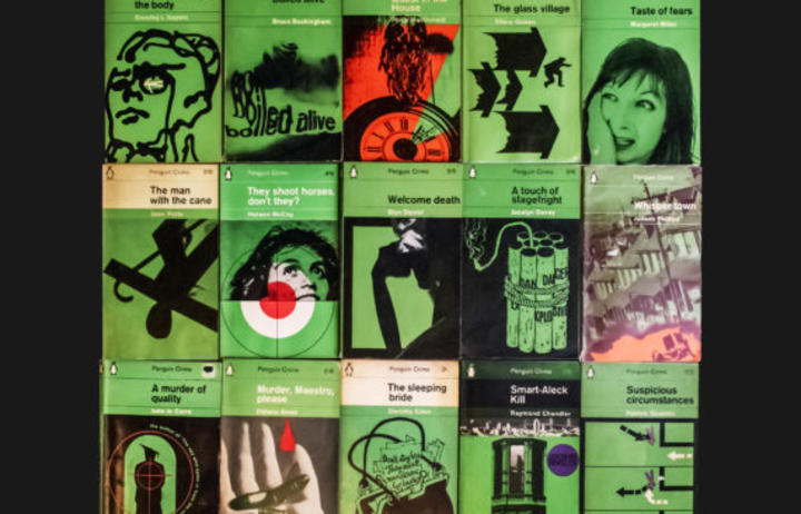 The Lurid: Crime Paperbacks and Pulp Fiction  exhibition is on at the University of Sydney's Fisher Library & SciTech Library until 30 June 2020.