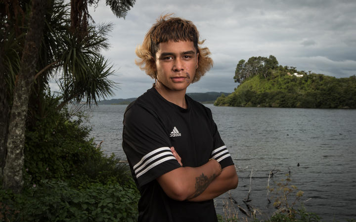 Kauri Huriwai-Flavell, 15, was sent home from his school until he had shaved