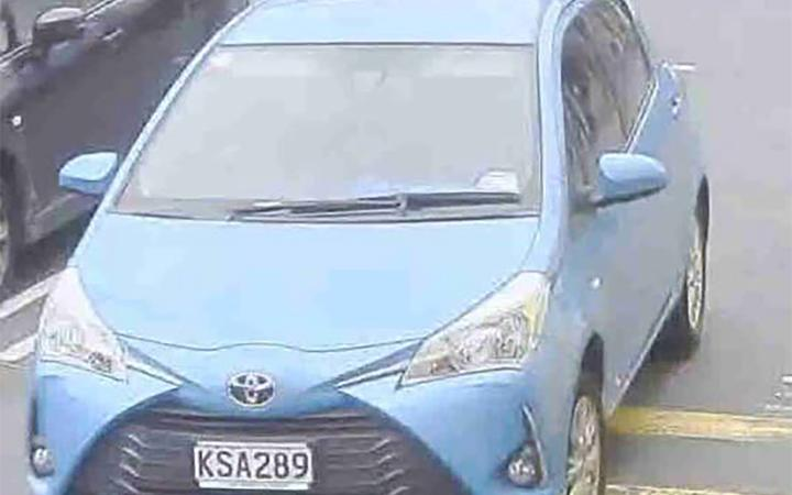 Police are appealing for information on a blue 2017 Toyota Yaris registration KSA289.