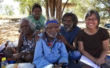 Putuparri and the Rainmakers:  Dolly Snell, Japeth Rangi, Spider Snell ,Tom Putuparri Lawford, Nicole Ma.
