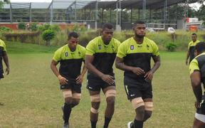 Fiji Latui prepare for Global Rapid Rugby tournament.