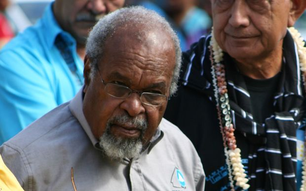 Former Papua New Guinea Prime Minister Sir Michael Somare