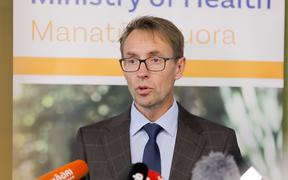 Director General of Health Dr Ashley Bloomfield