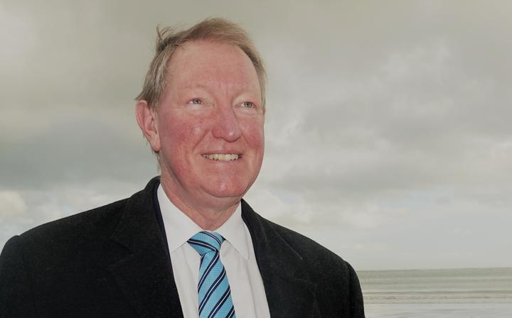 Nelson MP Dr Nick Smith on Tahunanui Beach
