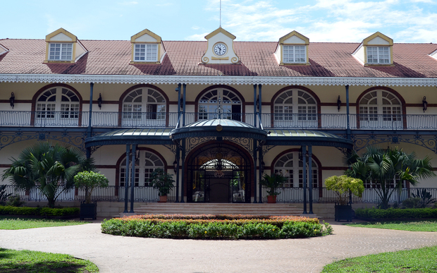 Presidential palace, Papeete
