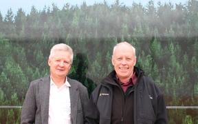 David Rhodes and Peter Weir, Forest Owners' Association