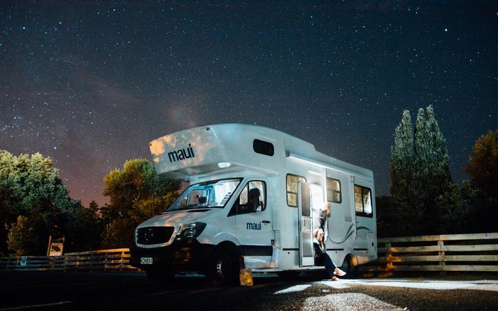 Campervan, motorhome, RV, freedom camping.