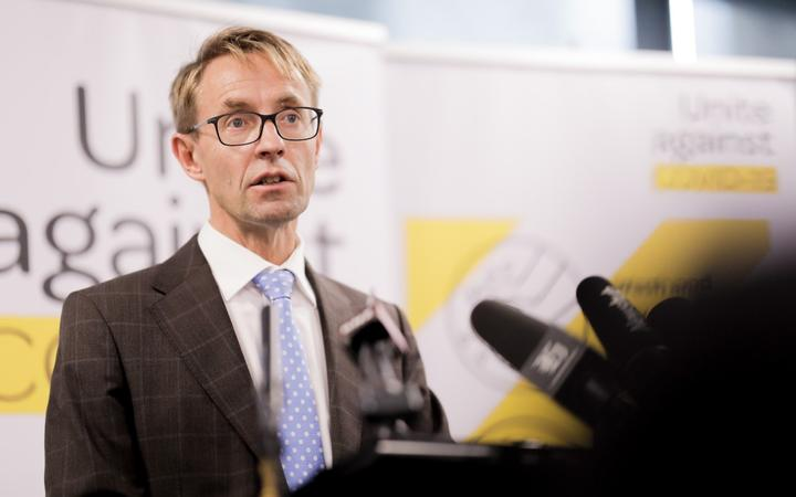 Director-General of Health Dr Ashley Bloomfield. 23/03/20