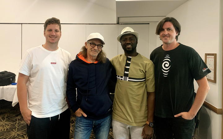 Dom Thomas (video) Trevor Reekie, Seckou Keita and William Saunders (recording engineer)