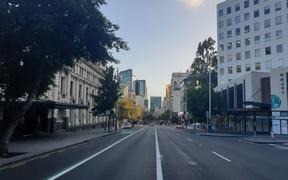 The usually packed Queen Street was left empty after New Zealand moved into alert level 3 to battle the Covid-19 pandemic, and ultimately heading to a lockdown.