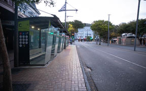 Wellington on 26 March, the first day of the Covid-19 lockdown.