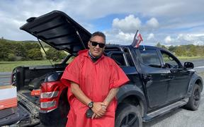 Former MP Hone Harawira organised the Far North Covid-19 checkpoint.