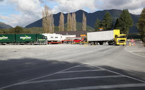 Trucks at Springs Junction