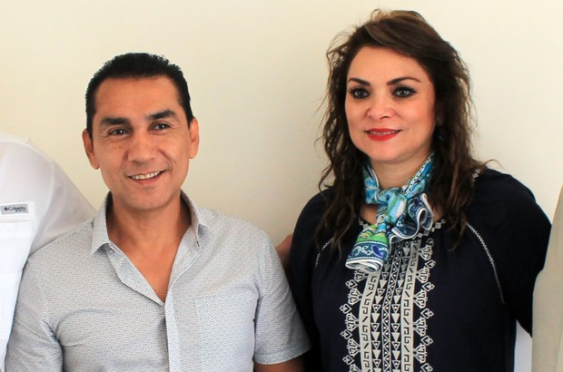 Former Iguala mayor Jose Luis Abarca and his wife Maria de Los Angeles Pineda.