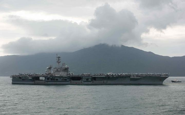 The USS Theodore Roosevelt